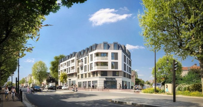 Achat / Vente appartement neuf Antony proche RER B Fontaine Michalon (92160) - Réf. 5081