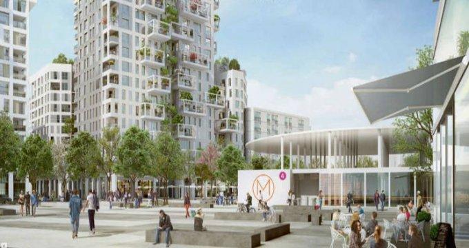 Achat / Vente appartement neuf Bagneux cœur quartier Victor Hugo (92220) - Réf. 4601