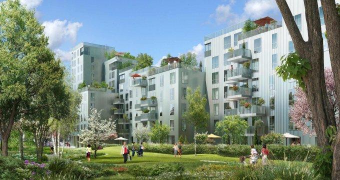 Achat / Vente appartement neuf Boulogne-Billancourt quartier Point du Jour (92100) - Réf. 1923