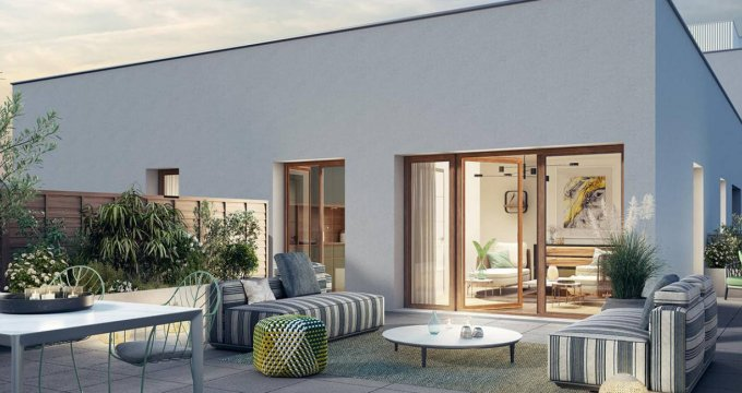 Achat / Vente appartement neuf Châtenay-Malabry au sein de la Vallée (92290) - Réf. 6135