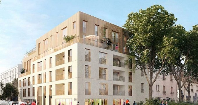 Achat / Vente appartement neuf Châtenay-Malabry proche commerces (92290) - Réf. 2533