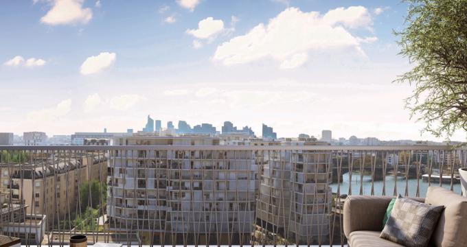 Achat / Vente appartement neuf Clichy à 800 mètres de la ligne13 du métro (92110) - Réf. 3359