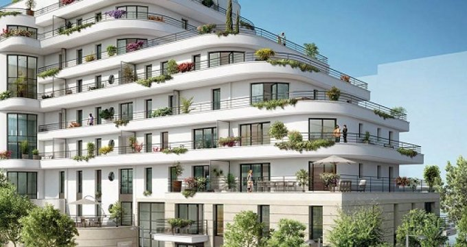 Achat / Vente appartement neuf Colombes écoquartier de la Marine (92700) - Réf. 2470