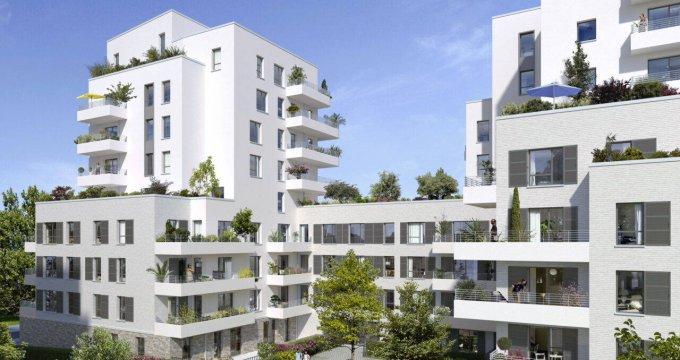 Achat / Vente appartement neuf Fontenay-aux-Roses au coeur du quartier des Paradis (92260) - Réf. 6196