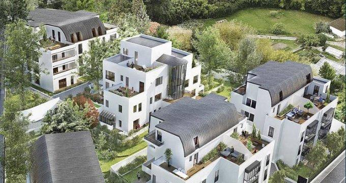 Achat / Vente appartement neuf Garches cœur quartier Buzenval (92380) - Réf. 3371