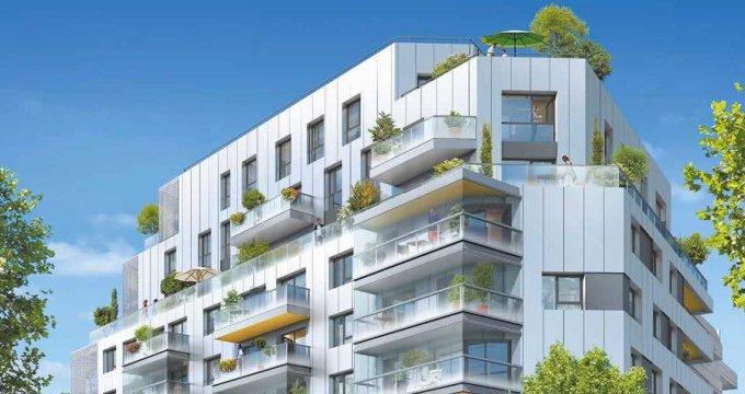 Achat / Vente appartement neuf Issy-les-Moulineaux proche du 15e arrondissement (92130) - Réf. 2416