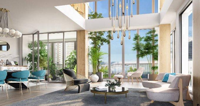 Achat / Vente appartement neuf Paris 13 à 5 min métro et RER C (75013) - Réf. 4598