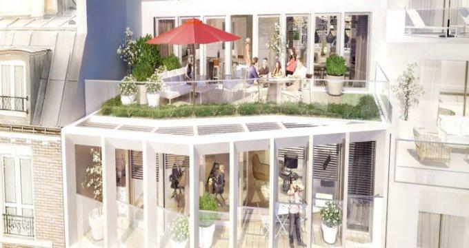 Achat / Vente appartement neuf Paris 18 à 350 mètres du métro (75018) - Réf. 3744