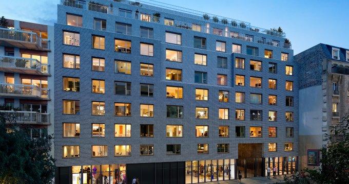 Achat / Vente appartement neuf Paris 19e métro Porte de Pantin (75019) - Réf. 3529