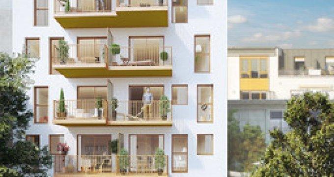 Achat / Vente appartement neuf Paris 20 quartier Saint-Fargeau (75020) - Réf. 3031