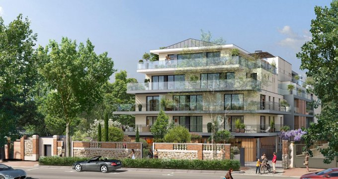 Appartement neuf garches face l 39 hippodrome 92380 r f for Achat appartement neuf idf