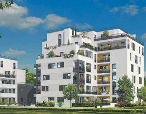 Achat / Vente appartement neuf Courbevoie proche île de la Jatte (92400) - Réf. 951