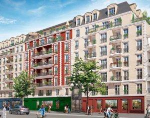 Achat / Vente appartement neuf La Garenne-Colombes entre la rue du Château et le boulevard de la République (92250) - Réf. 2589
