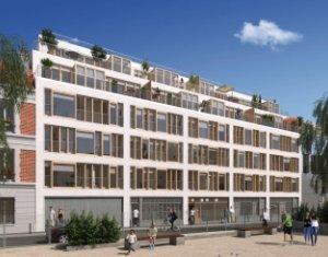 Achat / Vente appartement neuf Paris 11 face au square Raoul Nordling (75011) - Réf. 2021