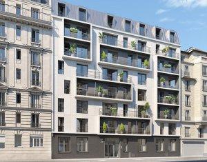 Achat / Vente appartement neuf Paris 18 proche métro 2 (75018) - Réf. 2437