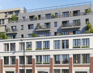 Achat / Vente appartement neuf Paris 20 proche cimetière du Père-Lachaise (75020) - Réf. 3005