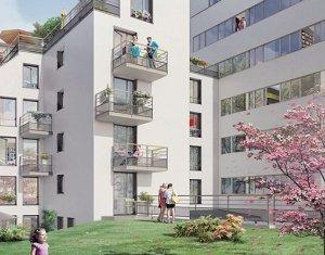 Achat / Vente appartement neuf Paris 20 proche métro Père Lachaise (75020) - Réf. 1176