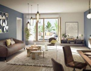 Achat / Vente appartement neuf Paris 20ème à deux pas du RER (75020) - Réf. 4799