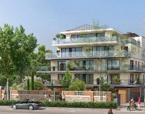 Achat / Vente appartement neuf Saint-Cloud face au jardin des Avelines (92210) - Réf. 2152