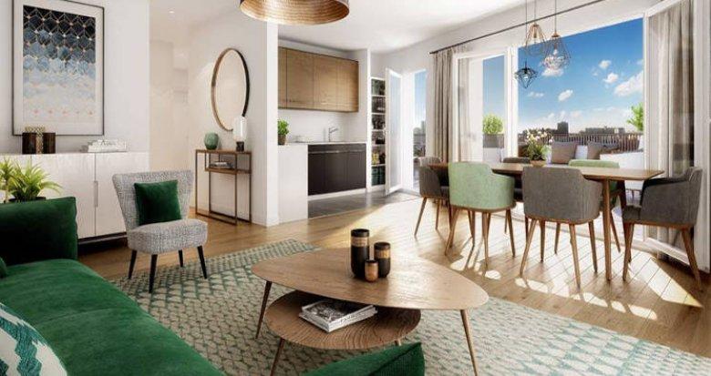 Achat / Vente appartement neuf Asnières-sur-Seine à deux pas du métro 13 (92600) - Réf. 5769
