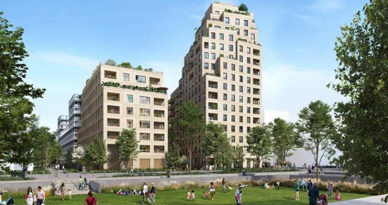 Achat / Vente appartement neuf Asnières-sur-Seine au cœur quartier  Seine Ouest (92600) - Réf. 5278