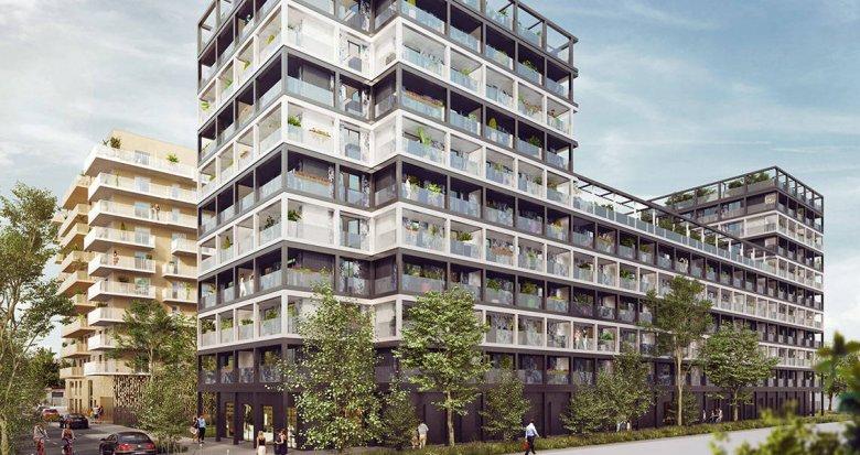 Achat / Vente appartement neuf Asnières-sur-Seine éco quartier Seine-Ouest (92600) - Réf. 6130