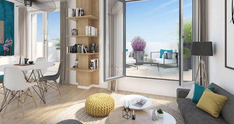 Achat / Vente appartement neuf Bois-Colombes secteur Pompidou Le Mignon (92270) - Réf. 4744