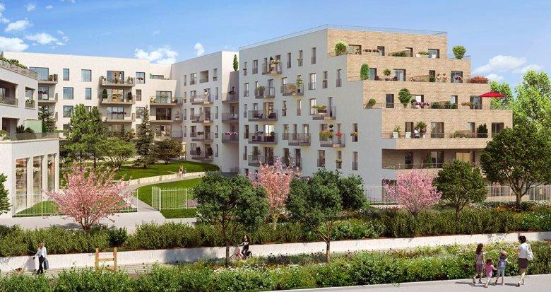 Achat / Vente appartement neuf Châtenay-Malabry proche RER B (92290) - Réf. 3139