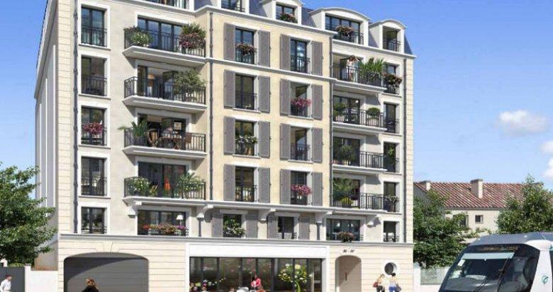 Achat / Vente appartement neuf Clamart à 200m du Tramway T6 (92140) - Réf. 5003