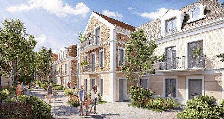 Achat / Vente appartement neuf Clamart proche Bois de Clamart et centre-ville (92140) - Réf. 1564