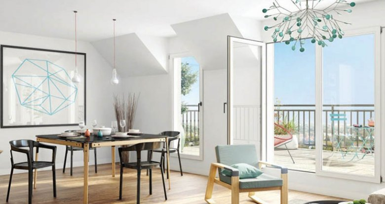 Achat / Vente appartement neuf Clamart proche bois de la Garenne (92140) - Réf. 2318