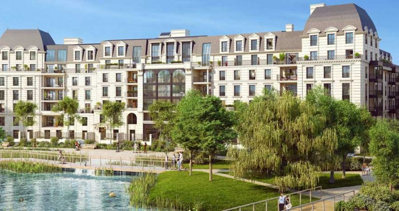Achat / Vente appartement neuf Clamart quartier Panorama (92140) - Réf. 3567