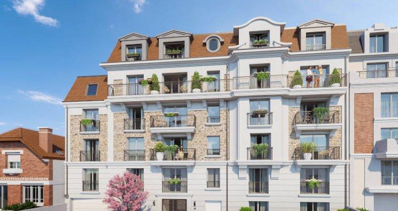 Achat / Vente appartement neuf Clamart quartier résidentiel (92140) - Réf. 4309