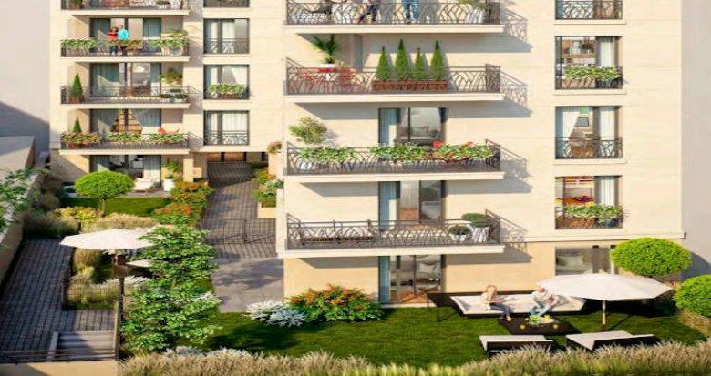 Achat / Vente appartement neuf Clichy-la-Garenne à 400 mètres du métro (92110) - Réf. 4442
