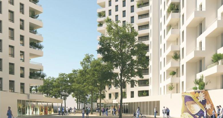 Achat / Vente appartement neuf Clichy-la-Garenne proche métro 13 et RER C (92110) - Réf. 3610