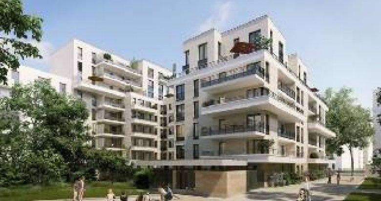 Achat / Vente appartement neuf Clichy proche métro ligne 13 (92110) - Réf. 4344