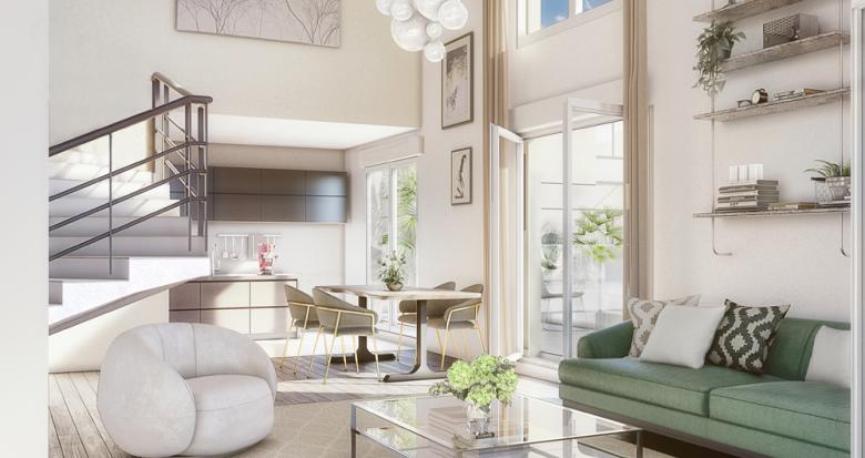 Achat / Vente appartement neuf Clichy proche RER C (92110) - Réf. 3343