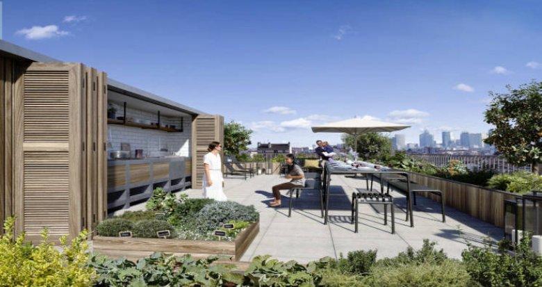 Achat / Vente appartement neuf Colombes à moins de 10 min du transilien J (92700) - Réf. 5809