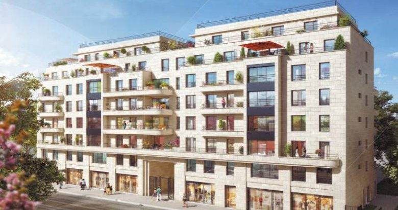 Achat / Vente appartement neuf Colombes proche mairie (92700) - Réf. 3577