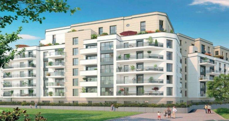 Achat / Vente appartement neuf Colombes proche Tramway T1 et Transilien J (92700) - Réf. 5701