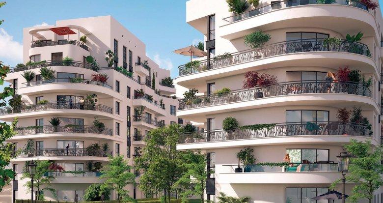 Achat / Vente appartement neuf Colombes quartier de l'Arc Sportif (92700) - Réf. 6154