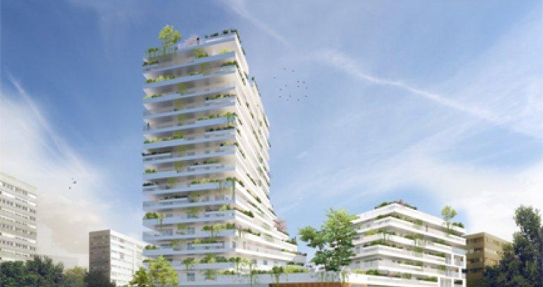 Achat / Vente appartement neuf Gennevillers proche métro Gabriel Peri (92230) - Réf. 2826