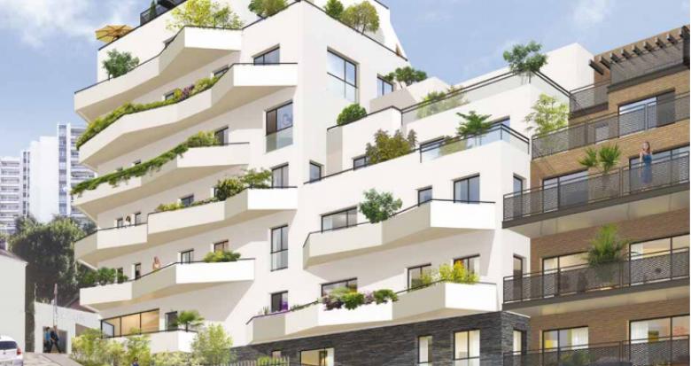 Achat / Vente appartement neuf Issy-les-Moulineaux à deux pas du RER C (92130) - Réf. 275