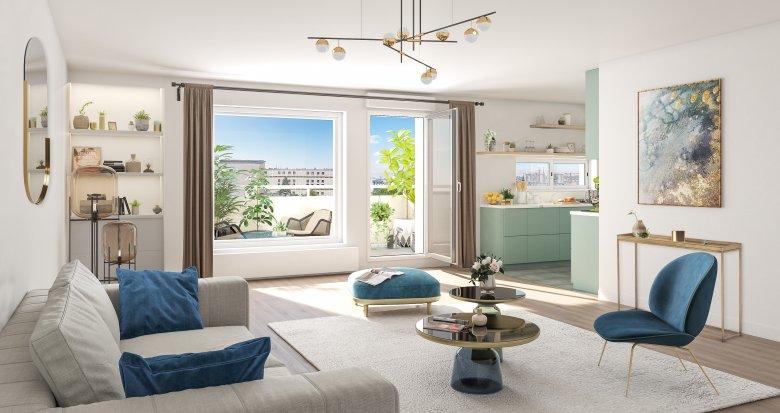 Achat / Vente appartement neuf Issy-les-Moulineaux quartier résidentiel proche commodités (92130) - Réf. 4238