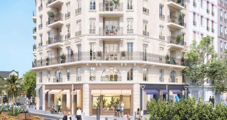 Achat / Vente appartement neuf La Garenne-Colombes à deux pas de la gare (92250) - Réf. 4644