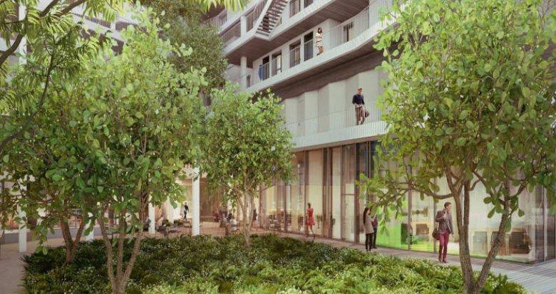 Achat / Vente appartement neuf Paris 13 proche RER et Université Sorbonne (75013) - Réf. 4671