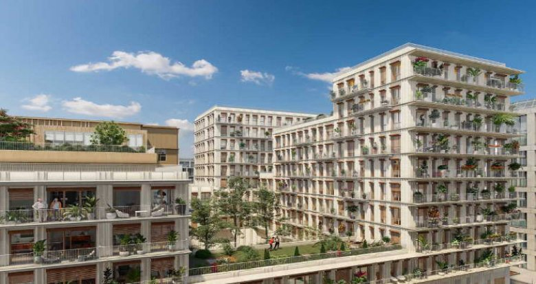Achat / Vente appartement neuf Paris 13 quartier Masséna Chevaleret (75013) - Réf. 5799