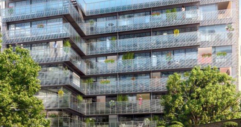 Achat / Vente appartement neuf Paris 14e à deux pas du Métro Raspail (75014) - Réf. 1583