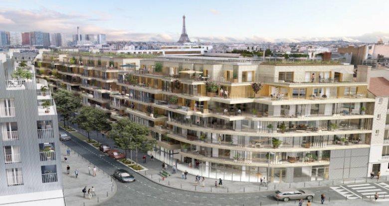 Achat / Vente appartement neuf Paris 15 à deux pas des commodités (75015) - Réf. 4621