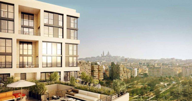 Achat / Vente appartement neuf Paris 17 quartier Batignolles - Monceau (75017) - Réf. 174
